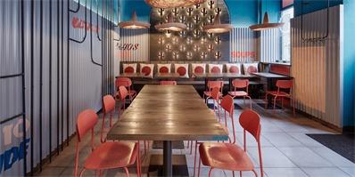 布拉格Burrito Loco快餐厅,符号化的墨西哥风情