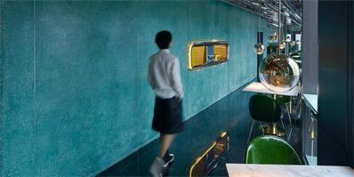 杭州外婆家中餐厅设计 波光粼粼的江南印象