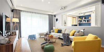 客厅再小也要凹好造型 小客厅这样设计准没错!