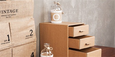 鞋盒废物利用做收纳盒 不仅环保还很实用哦!