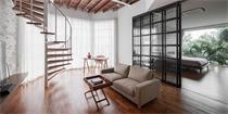 泰国:90平小公寓大改造,年轻情侣的个性小家