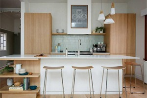 好清爽!10款清新餐厨空间,教你用色彩学击退厨房里的躁热感!