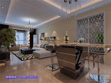 简约风格不仅注重居室的实用性,而且还体现出了工业化
