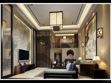 地址:湘水明珠 连排别墅业主:周总 风格:简约中式